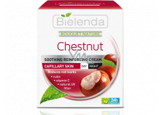 Bielenda Bouquet Nature Chestnut cream for dilated vessels with chestnut day / night 50 ml