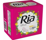 Ria Ultra Normal Plus sanitary napkins with wings 10 pieces