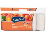 Big Soft Peach Peach perfumed toilet paper 2 ply 10 rolls x 200 pieces