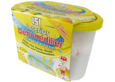 151 Interior Dehumidifier Lemon moisture remover with air freshener 300 g