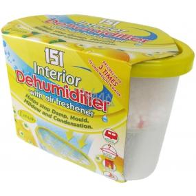 151 Interior Dehumidifier Lemon Moisture remover with air freshener 300 g
