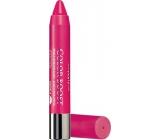 Bourjois Color Boost Glossy Finish Lipstick hydratační rtěnka 02 Fuchsia Libre 2,75 g