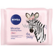 Nivea 3in1 Micellar cleansing skin wipes for all skin types 25 pieces