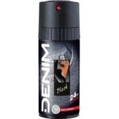 Denim Black 150 ml men's deodorant spray