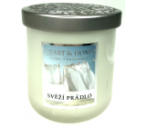 Heart & Home Fresh laundry Soy scented candle medium burns up to 30 hours 115 g