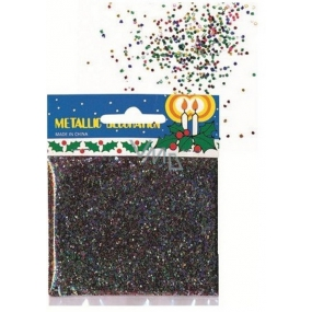 Colorful sequins confetti in a 14 g bag