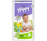 Bella Happy 4 Maxi 8-18 kg diaper panties 46 pieces