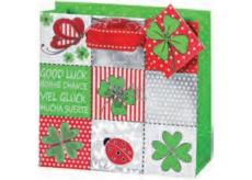 BSB Gift bag big 36 x 26 x 14 cm Four-leaf LDT 365-A4