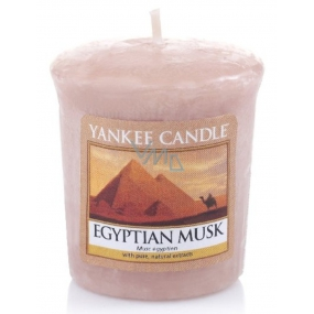 Yankee Candle Egyptian Musk - Egyptian musk scented candle 49 g