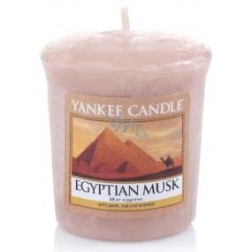Yankee Candle Egyptian Musk - Egyptské pižmo vonná svíčka votivní 49 g