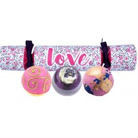 Bomb Cosmetics Love ballistic mix 3 x 160 g, cosmetic set