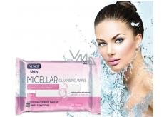 Nuagé Micellar Aloe Vera, Vitamin E & Chamomile Extract 3in1 Micellar Wet Napkins 25pcs