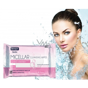 Nuage Micellar Aloe Vera, Vitamin E & Chamomile Extract 3in1 Micellar Wet Wipes 25 Pieces