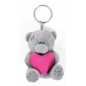 Me to You Plush Heart Keychain 8 cm