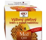 Bione Cosmetics Med and Q10 nourishing skin cream with royal jelly 51 ml