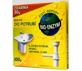 Bio-Enzyme Bio-P3 Biological product to block obstructed tubes and reduce odor, restores natural decomposition process 100 g