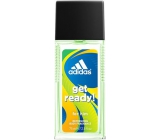 Adidas Get Ready! for Him parfémovaný deodorant sklo 75 ml