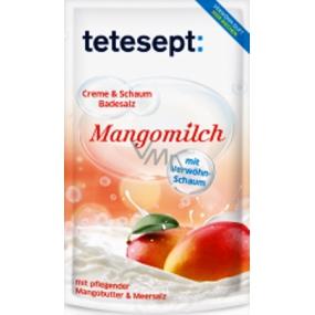 Tetesept Mango milk + Almond oil Sea salt, Creamy bath foam 80 g Mangomilch
