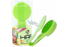 W7 Hair Chalk barvící křída na vlasy Green 2 g