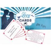 Bohemia Gifts & Cosmetics Love Cards karty splněných přání pro pány 20 kusů karet