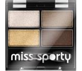 Miss Sports Studio Color Quattro Eyeshadow 413 100% Golden 3.2 g