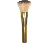 Cosmetic Brush 066 Gold Handle Light Hair 0613