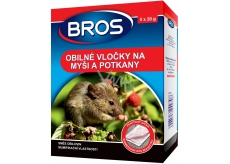 BROS cereal flakes for mice, rats and rats