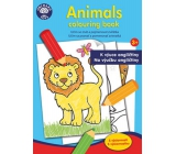 Ditipo Coloring pages Animals for teaching English to children 3+ 24 pages