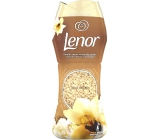 Lenor Gold Orchid scent of vanilla, mimosa, roses and peach fragrant beads for washing machine drum 210 g