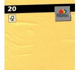 PAP.UBR. Fasana 3vr.20pcs yellow 5309
