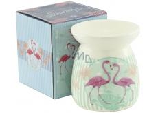 Arome Aromalampa ceramic Flamingos blue 92 x 106 mm