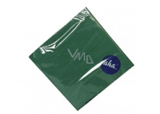 Aha paper napkins monochrome green 33 x 33 cm, 3-ply 20 pieces