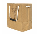 Albi Eco bag made of washable paper with handle - hummingbird 30 cm x 34 cm x 18 cm
