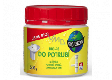 Bio-Enzyme Bio-P3 Biological product for permeation of clogged pipes and reduces odor 500 g restores the natural decomposition process