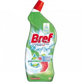 Bref Pro Nature Grapefruit WC gel 700 ml