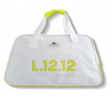 Lacoste Eau de Lacoste L.12.12 Yellow Limited Edition sports bag yellow stripe 48 x 18 x 30 cm
