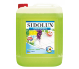 Sidolux Universal Soda Green grapes detergent for all washable surfaces and floors 5 l