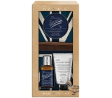Baylis & Harding Men Ginger and Lime beard shampoo 100 ml + skin cleansing gel 50 ml + beard wax 50 ml + comb, cosmetic set for men
