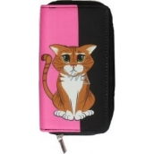 Albi Original Zip wallet Cat 17.3 x 9 x 2.5 cm