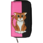 Albi Wallet with zipper Cat 7382