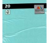 PAP.UBR. Fasana 3vr.20pcs blue turquoise. 5309