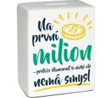 Moneybox brick - First million