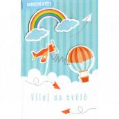Nekupto Birthday card Welcome to the world 115 x 170 mm 3456 J