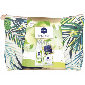 Nivea Natural Beauty lotion 200 ml + night cream 50 ml + day cream 50 ml + case, cosmetic set for women