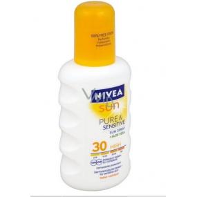 Nivea Sun Pure & Sensitive SPF30 + Sunbathing Spray 200 ml