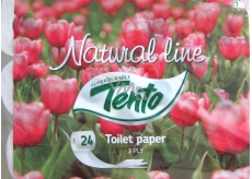 This Natural Line toilet paper 3 layers 24 pieces