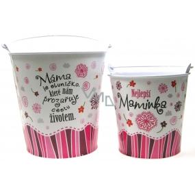 Nekupto Gift center Gift box for a flowerpot medium Best mother diameter 14 cm