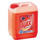 Ajax Floral Fiesta Red Flowers universal cleaner 5 l