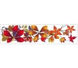Room Decor Okenní fólie pruh s podzimním listím 59 x 15 cm č.4