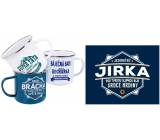 Albi Tin mug with the name Jirka 250 ml